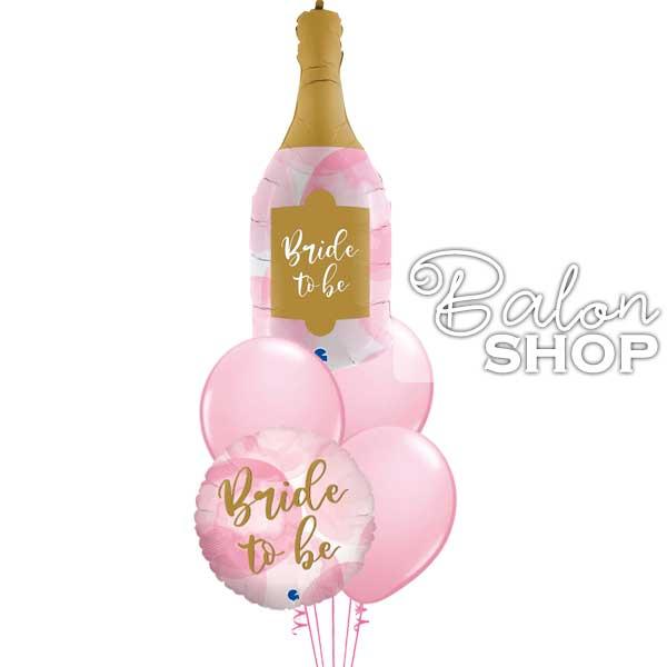 svetlo roze baloni za devojacko vece