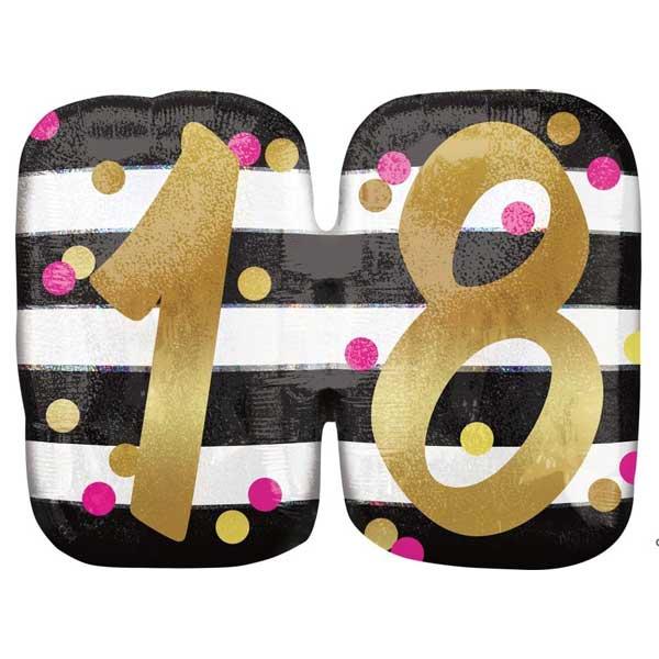 18 rodjendan balon