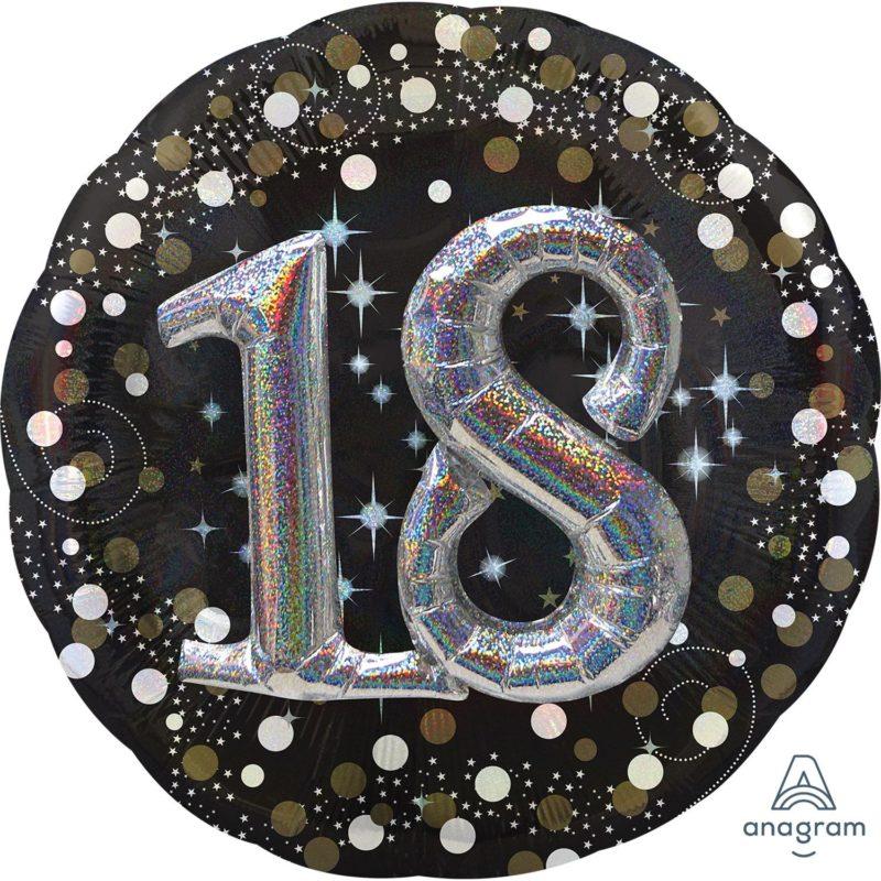 broj 18 veliki 3d