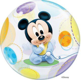 Mickey baby bubble balon
