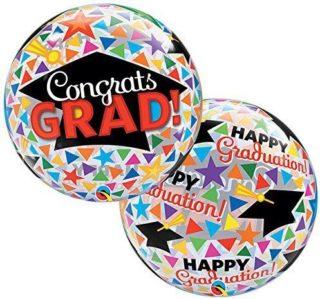 Bubble Congrats GRAD sa diplomskom kapicom