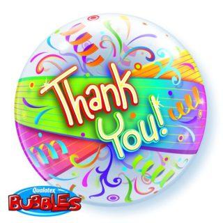 Bubble Thank You balon