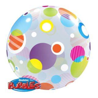Bubble balon sa šarenim tuficama