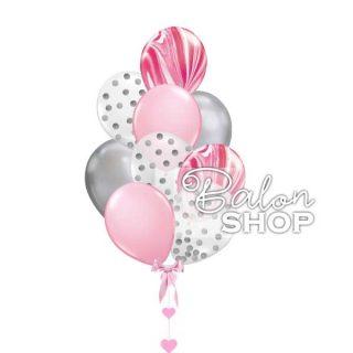 Super Agate buket Pink