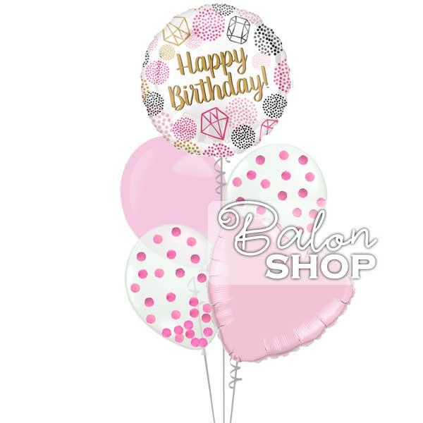 za damicu buket balona na poklon