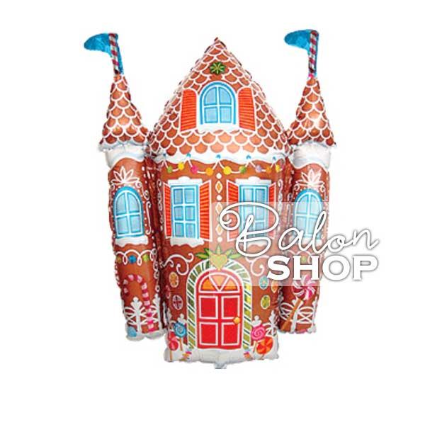 candy castle folija balon