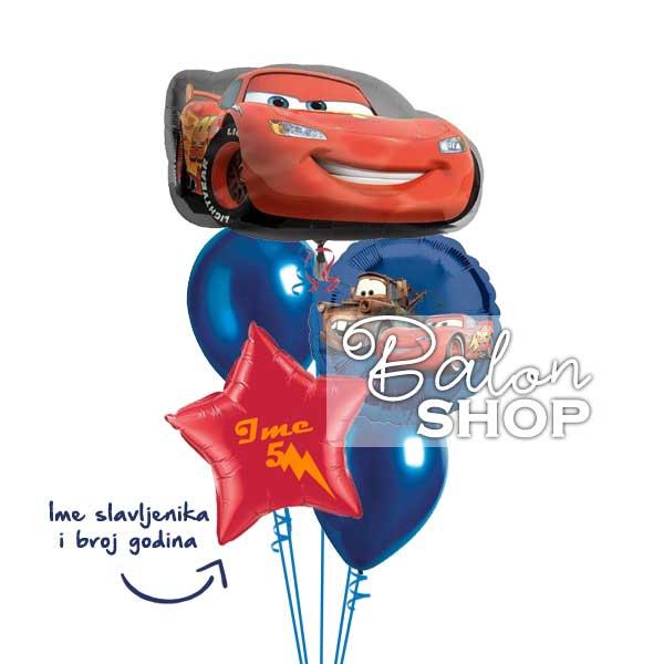 cars rodjedanski baloni