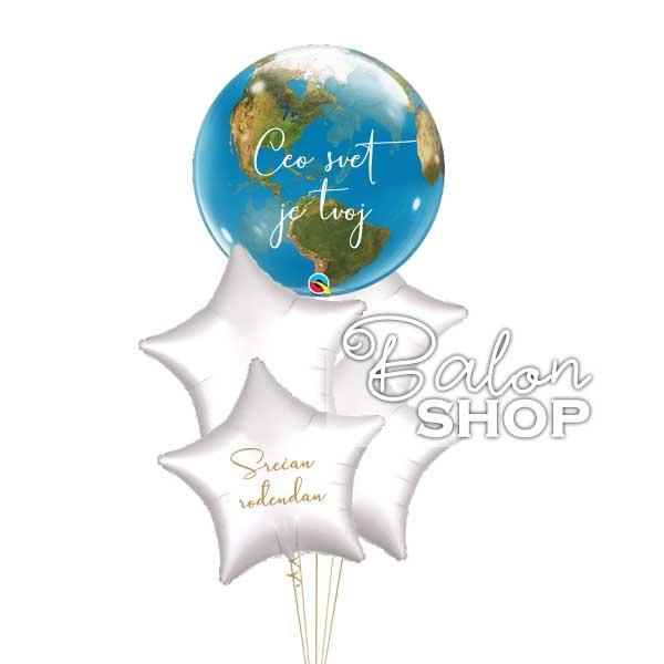ceo svet je tvoj baloni
