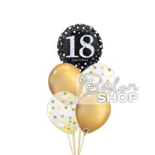 18. rodjendan zlatni buket