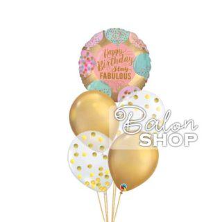 Happy Birthday stay fabulous buket balona