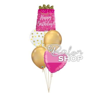 Baloni za rođendan Pink Elegant