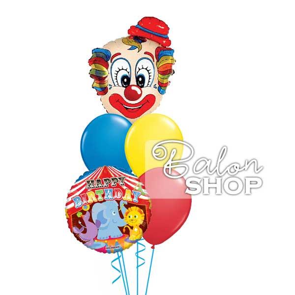 cirkus rodjendanski baloni u buketu