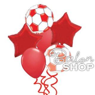 Crvena zvezda buket balona