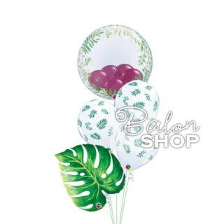 Cvet helijumski buket balona