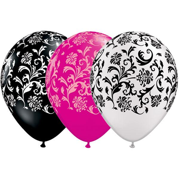damask stampani baloni