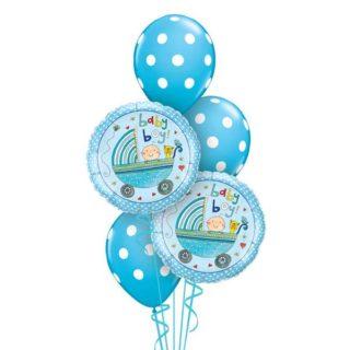 Buket balona Dečak dolazi