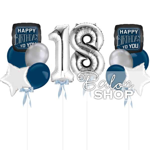 dekoracija za 18 rodjendan za decake