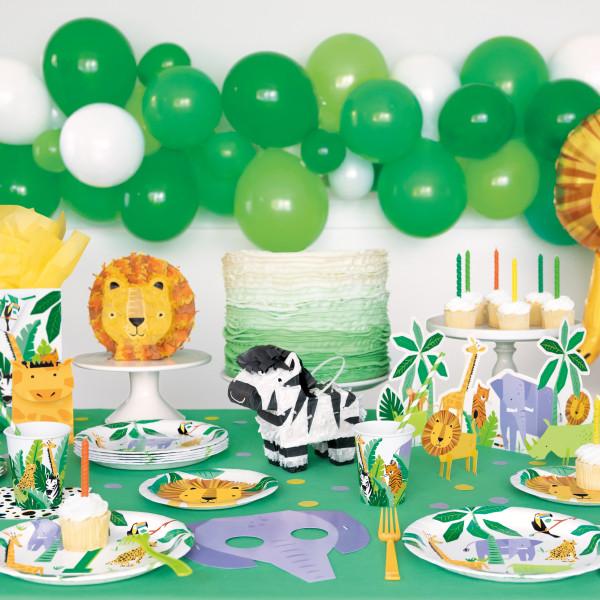 safary party dekoracija