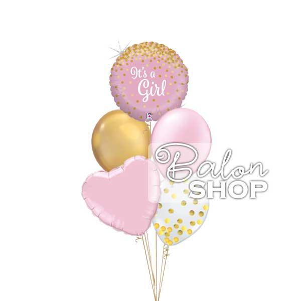 dekoracija za dolazak bebe devojčice