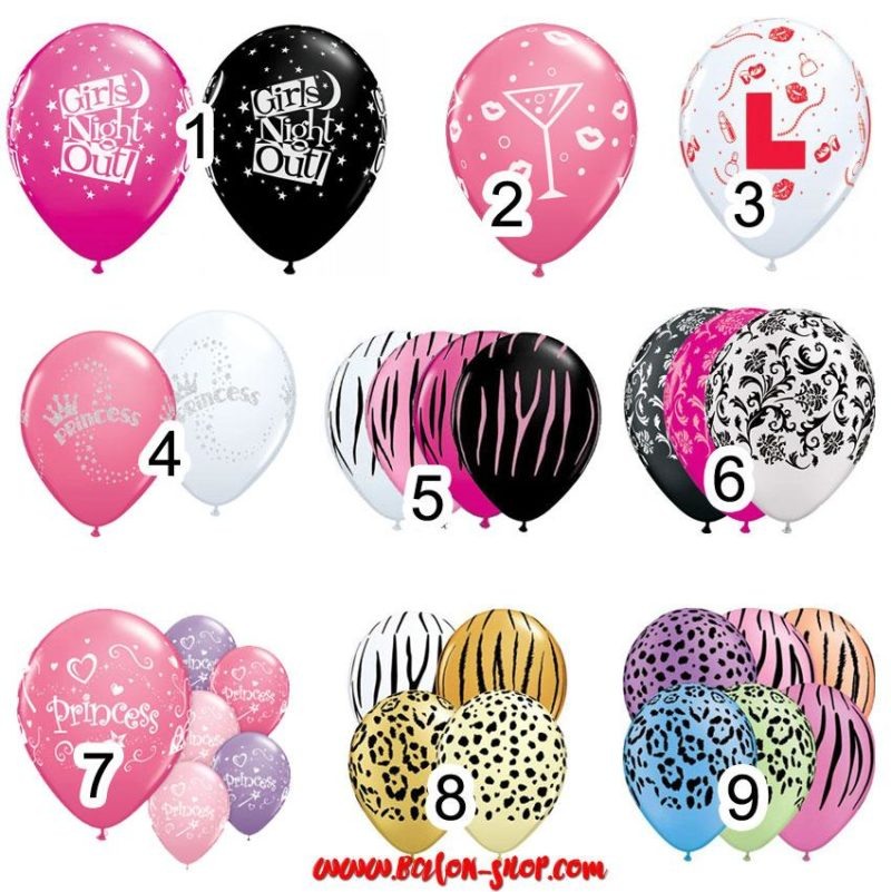 devojacko vece latex baloni