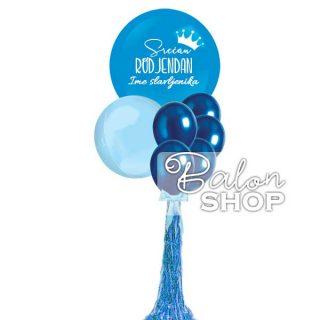 Baloni za rođendan u džinovskom buketu za njega