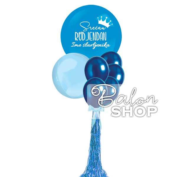 dzinovski buket balona