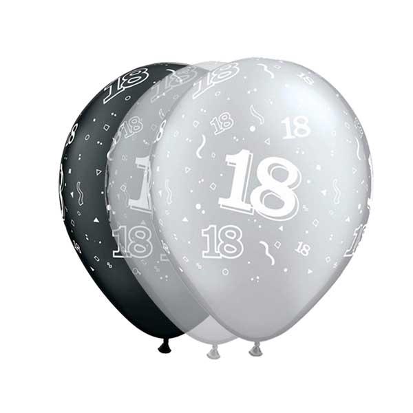 osamnaesti rodjendan elegantan balon