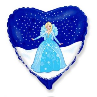 Elza Frozen u srcu balon