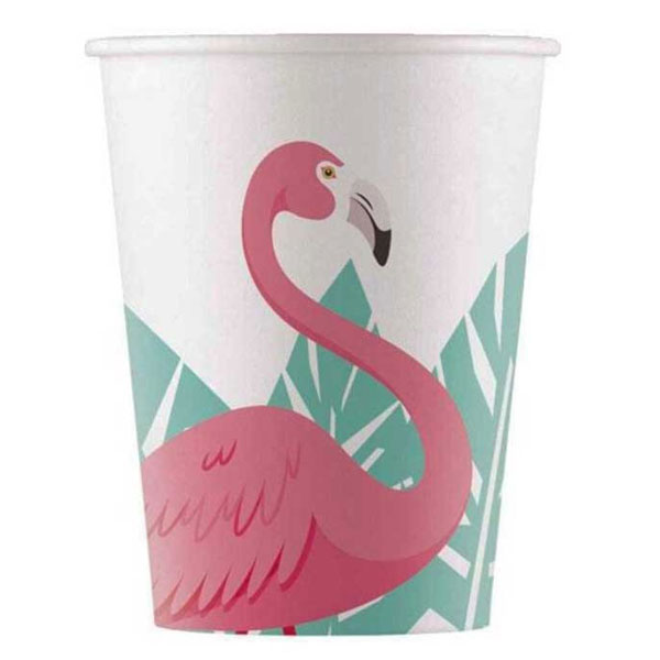flamingo papirne case