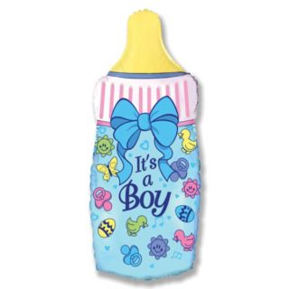 Bebi plava flašica balon