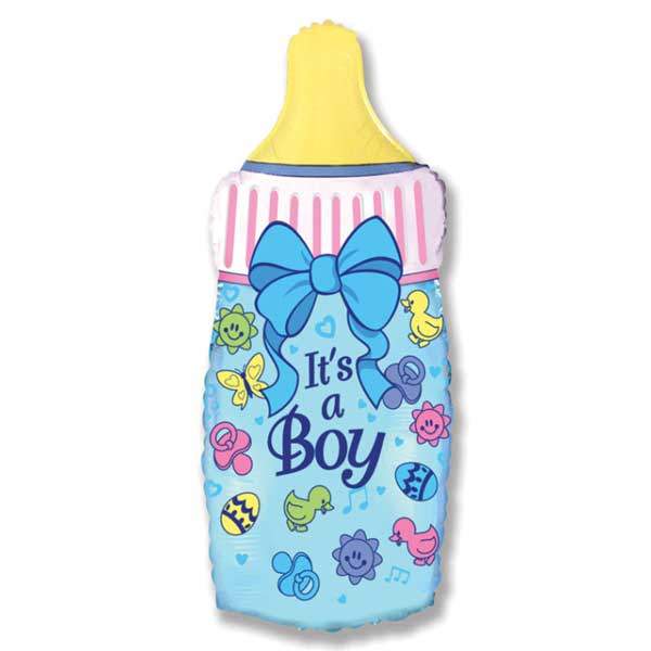 flasica za bebu plava balon
