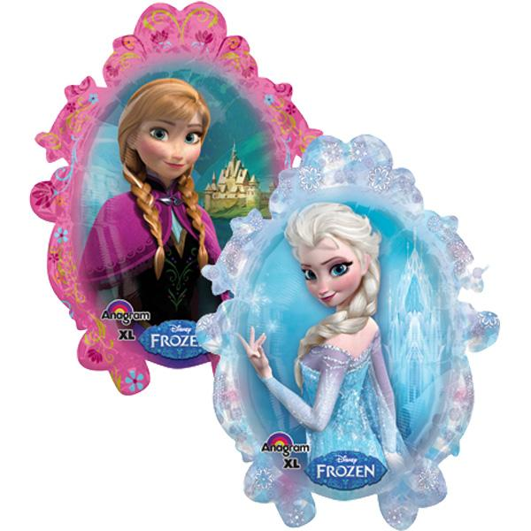 frozen ana elza balon