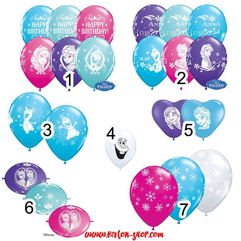 frozen latex balon