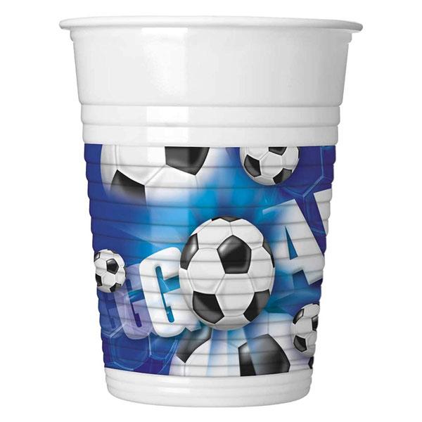 fudbal plastične čaše