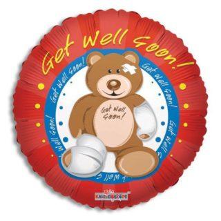 Get Well Soon plišani meda ranjeni