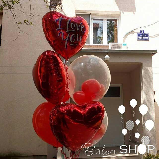 baloni za zaljubljene