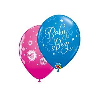 Gumeni baloni za rođenje bebe