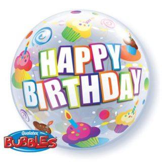 Happy Birthday bubble baloni
