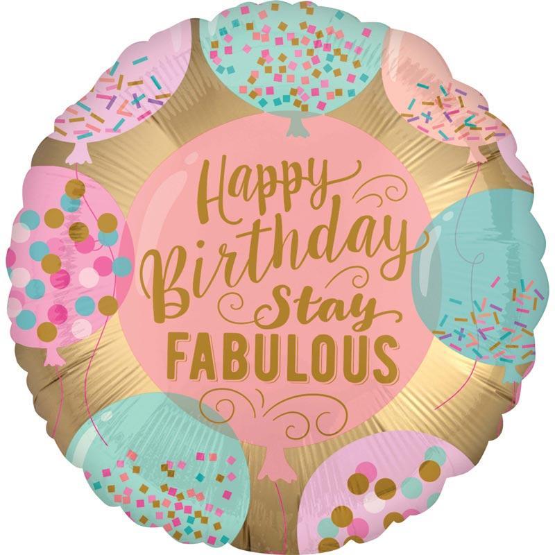 happy birthday stay fabulous