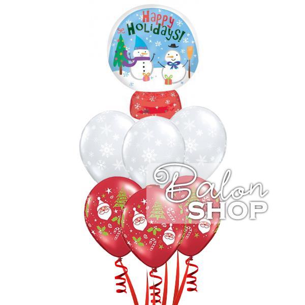happy holidays buket balona