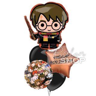 Harry Potter rođedanski baloni u buketu