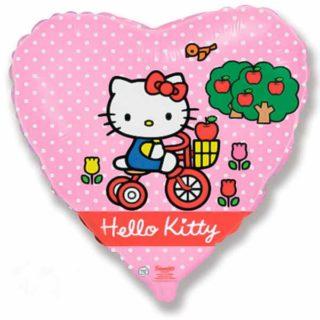 Hello Kitty na bicikli
