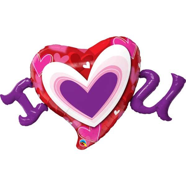 i srce u balon