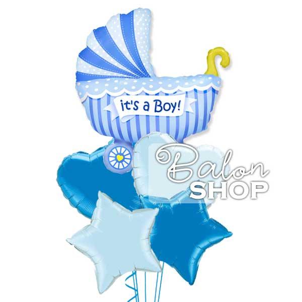 rodjenje decaka baloni