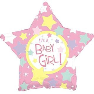 It's a baby girl zvezdice balon