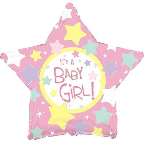 baby girl zvezda balon
