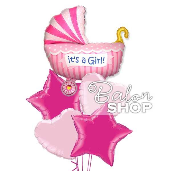 rodjenje devojcice baloni sa helijumom