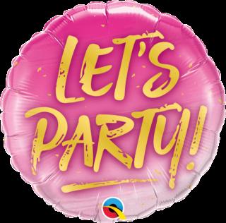 Let's Party balon