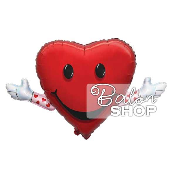 love hug balloon