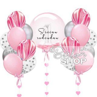 Lux set za prvi rođendan za devojčicu